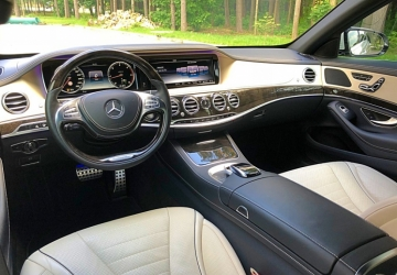 Mercedes S-class Белый